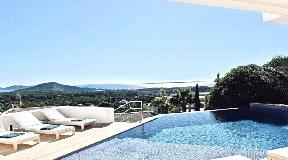 Villa met prachtig uitzicht op zee in exclusieve gated community